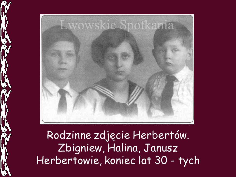 Rodzinne zdjęcie Herbertów