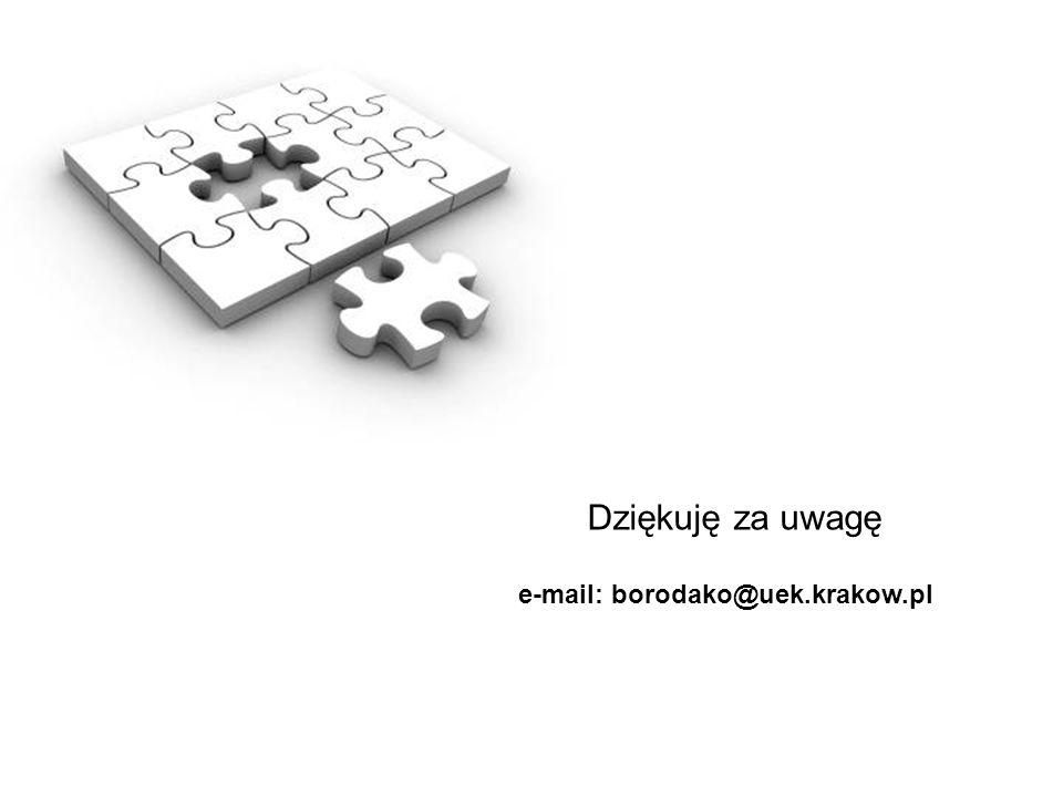 e-mail: borodako@uek.krakow.pl