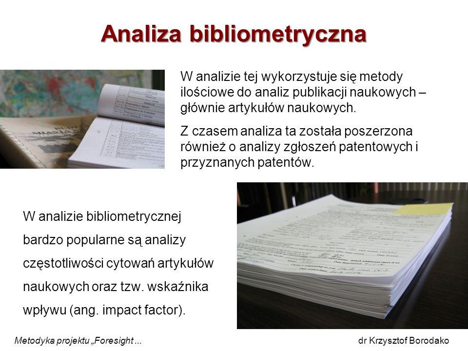 Analiza bibliometryczna