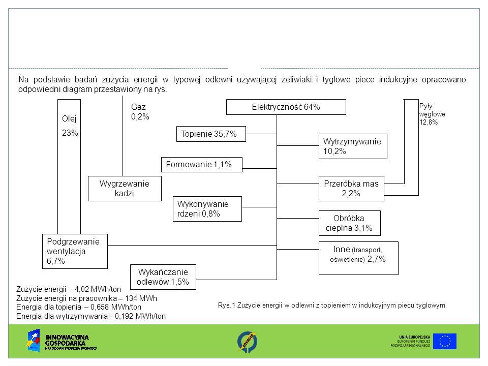 Inne (transport, oświetlenie) 2,7%