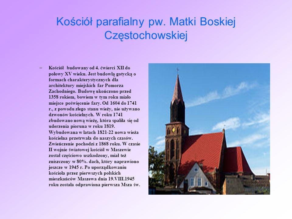 Kościół parafialny pw. Matki Boskiej Częstochowskiej