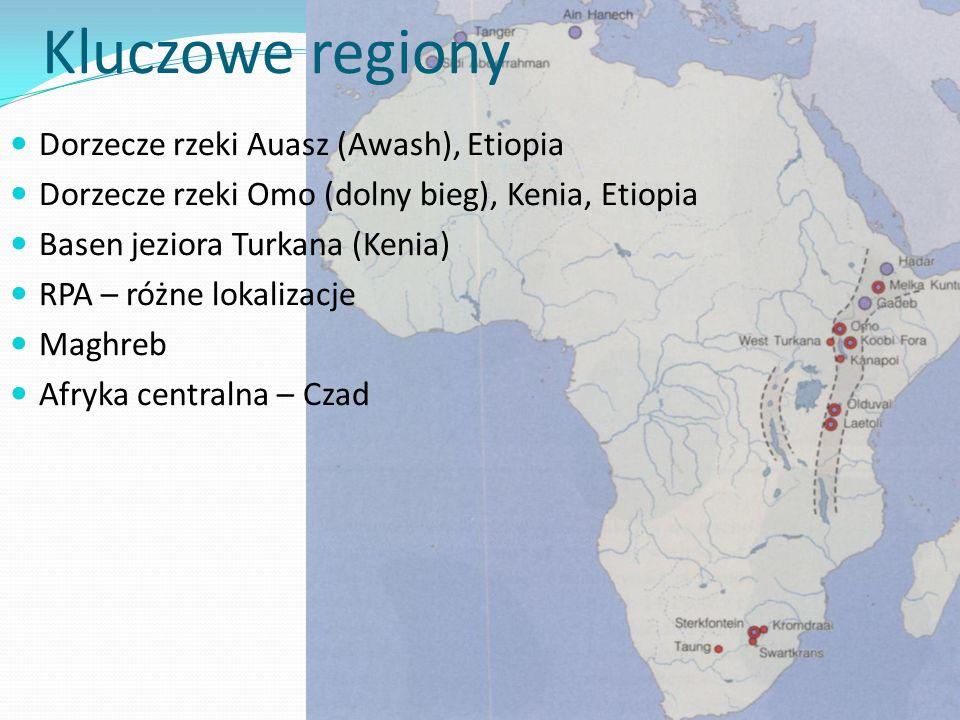 Kluczowe regiony Dorzecze rzeki Auasz (Awash), Etiopia