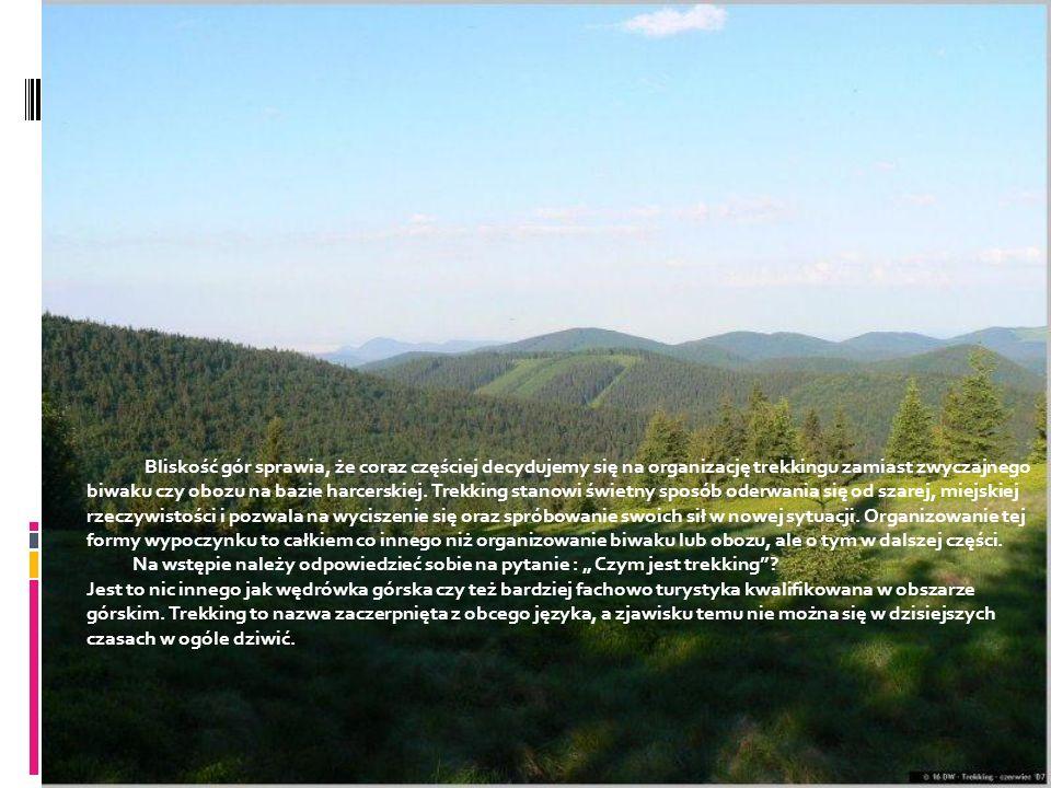Jak zorganizować i przeprowadzić dobry trekking