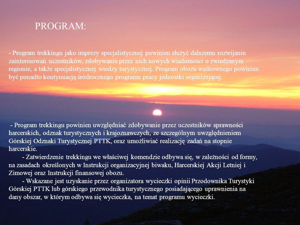 Program PROGRAM: