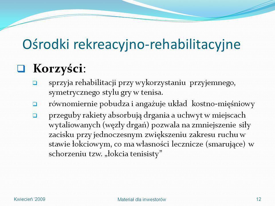 Ośrodki rekreacyjno-rehabilitacyjne