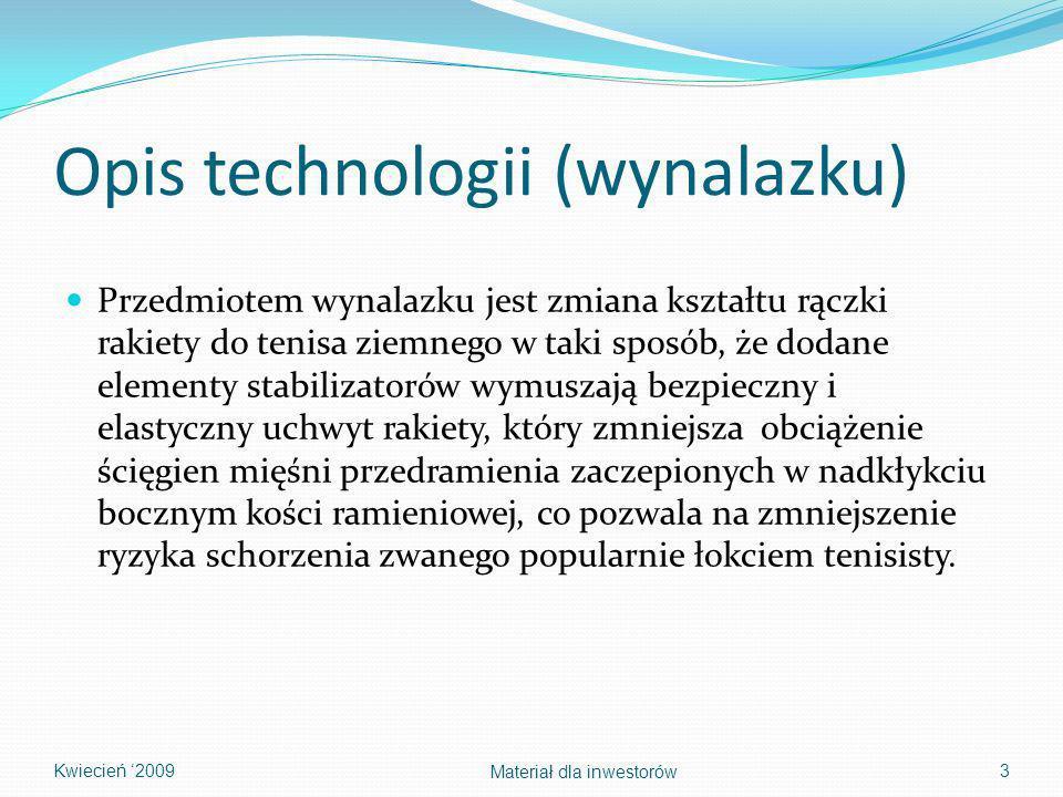 Opis technologii (wynalazku)