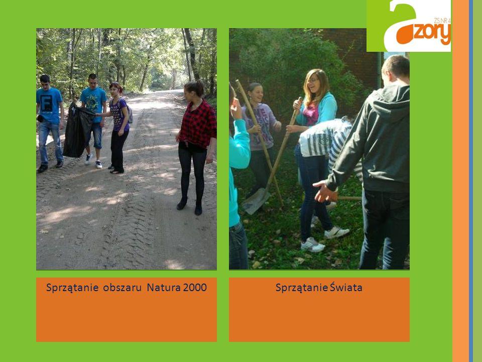 Sprzątanie obszaru Natura 2000