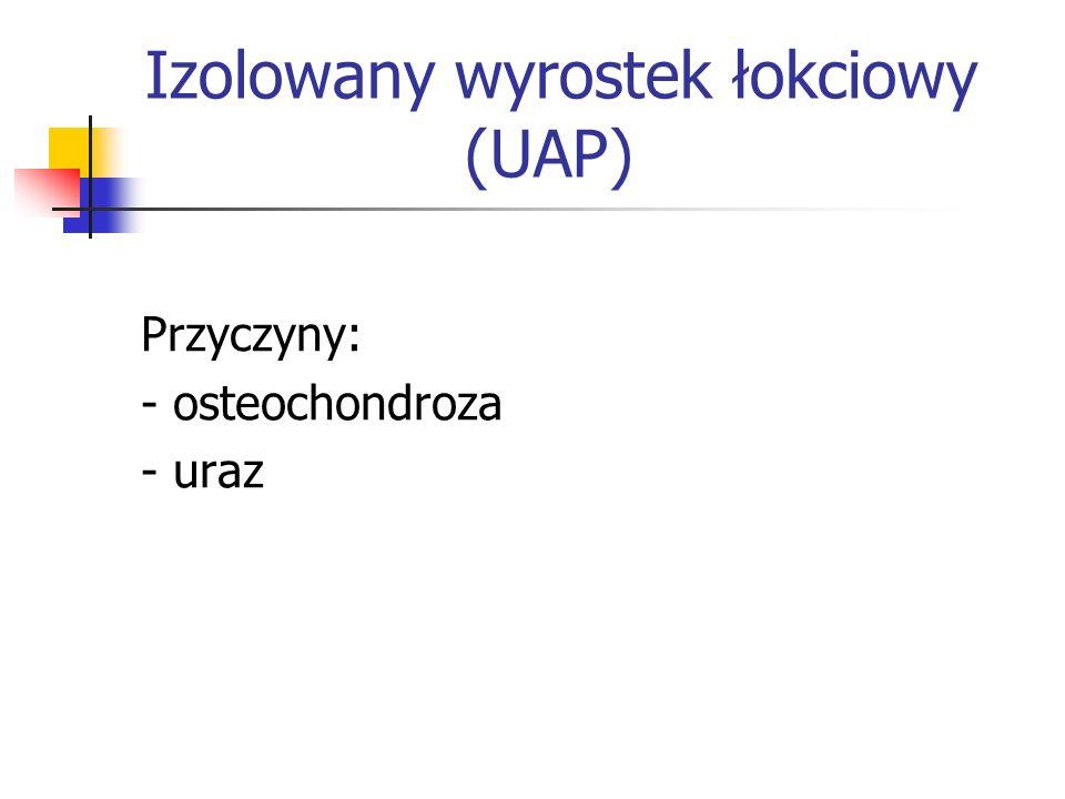 Izolowany wyrostek łokciowy (UAP)