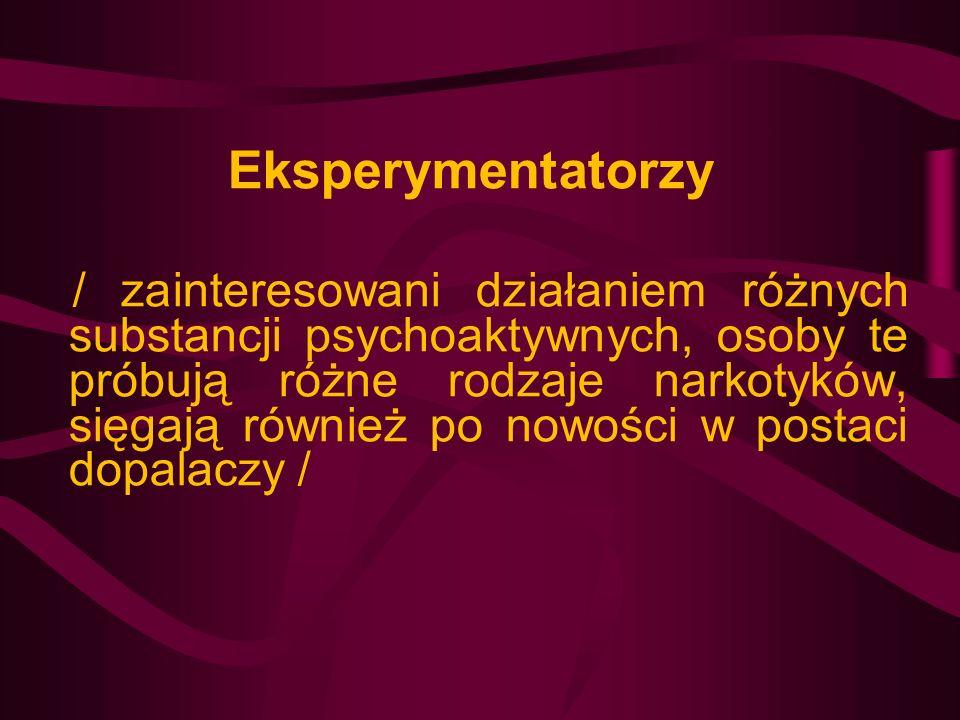 Eksperymentatorzy