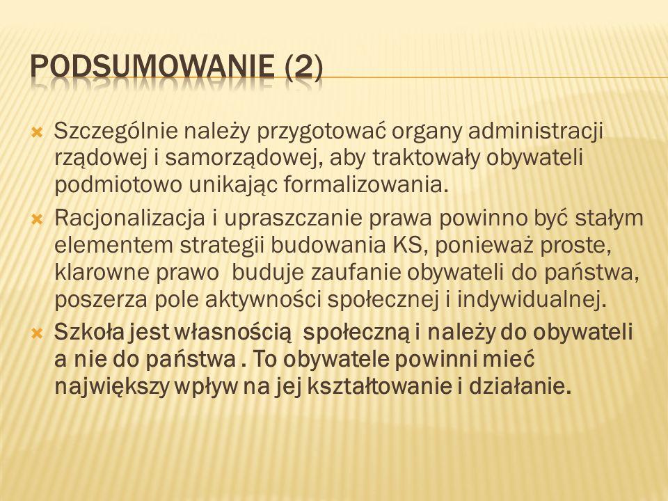 Podsumowanie (2)