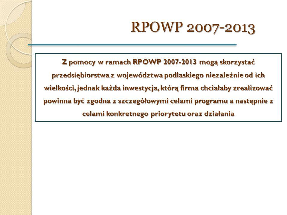 RPOWP 2007-2013