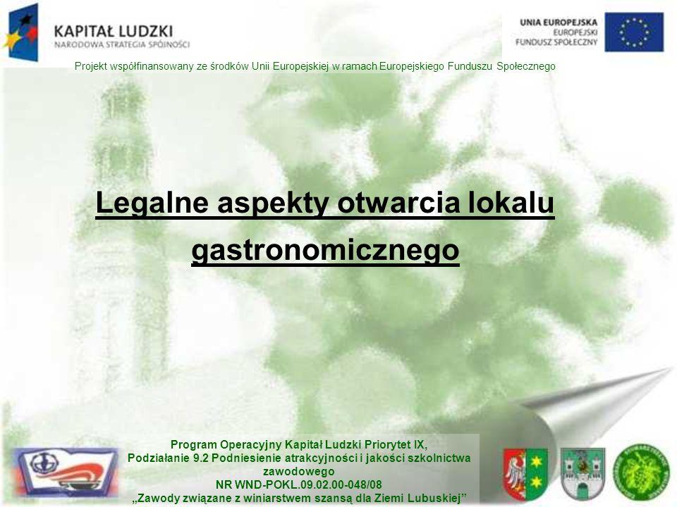 Legalne aspekty otwarcia lokalu gastronomicznego
