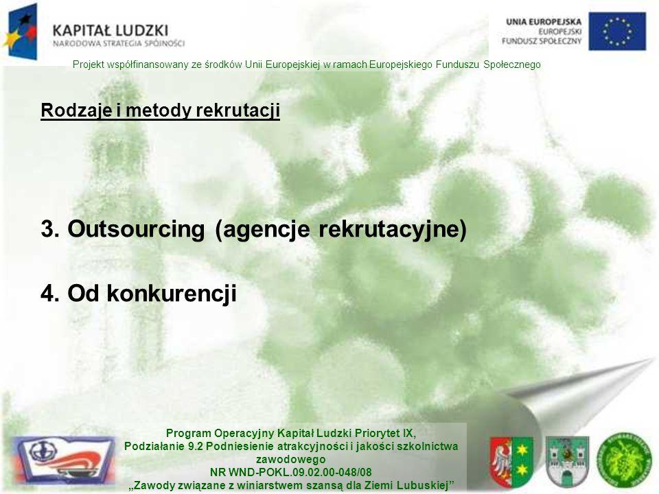 Rodzaje i metody rekrutacji