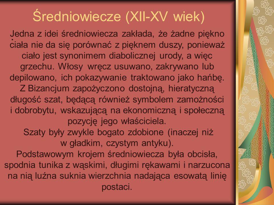 Średniowiecze (XII-XV wiek)