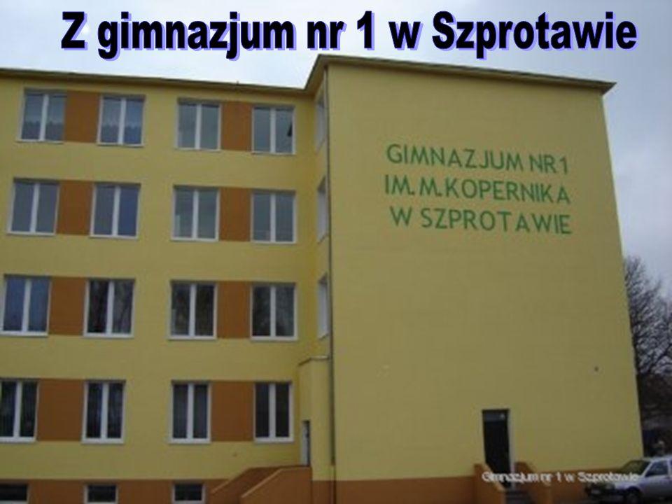 Z gimnazjum nr 1 w Szprotawie