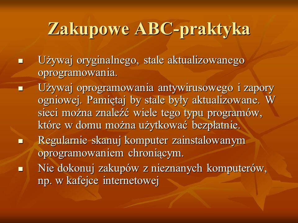 Zakupowe ABC-praktyka