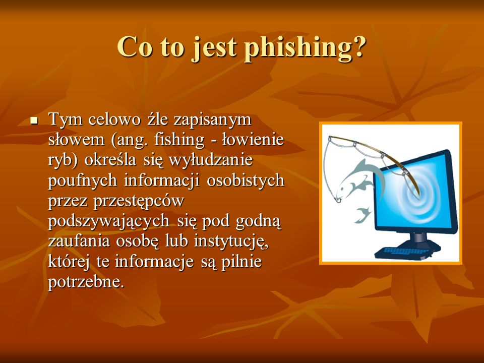 Co to jest phishing
