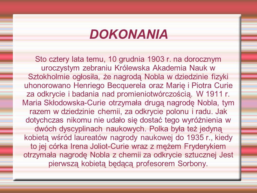 DOKONANIA