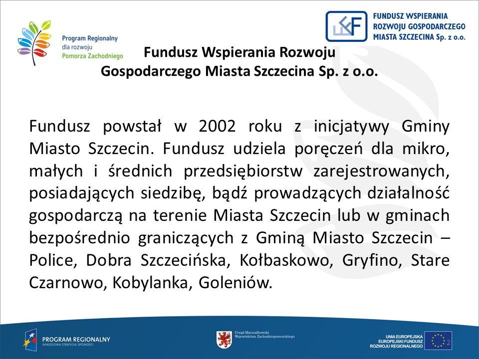 Fundusz Wspierania Rozwoju Gospodarczego Miasta Szczecina Sp. z o.o.