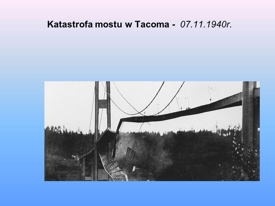 Katastrofa mostu w Tacoma - 07.11.1940r.