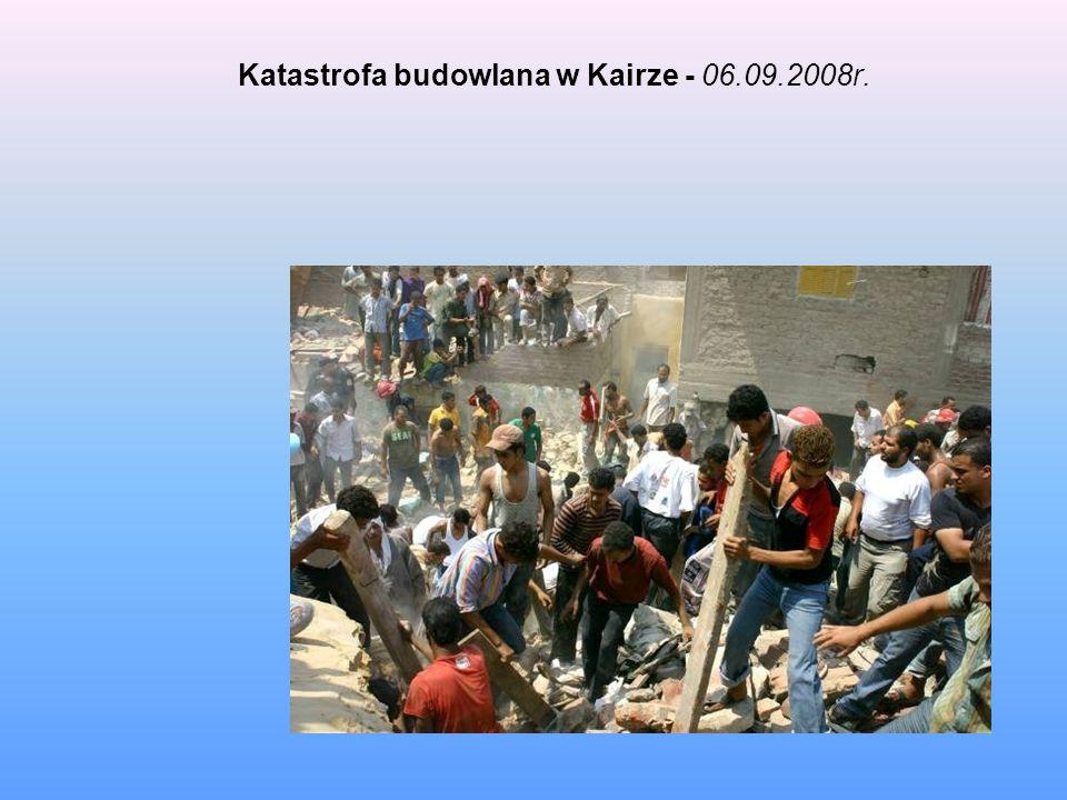 Katastrofa budowlana w Kairze - 06.09.2008r.