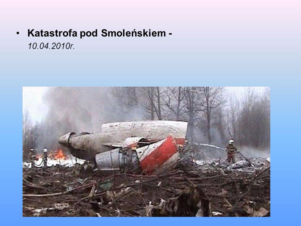 Katastrofa pod Smoleńskiem -
