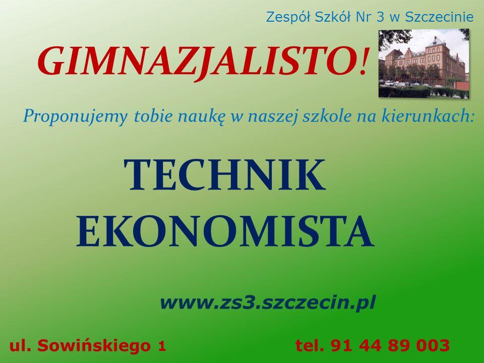 Zespół Szkół Ekonomicznych Nr 3 w Szczecinie
