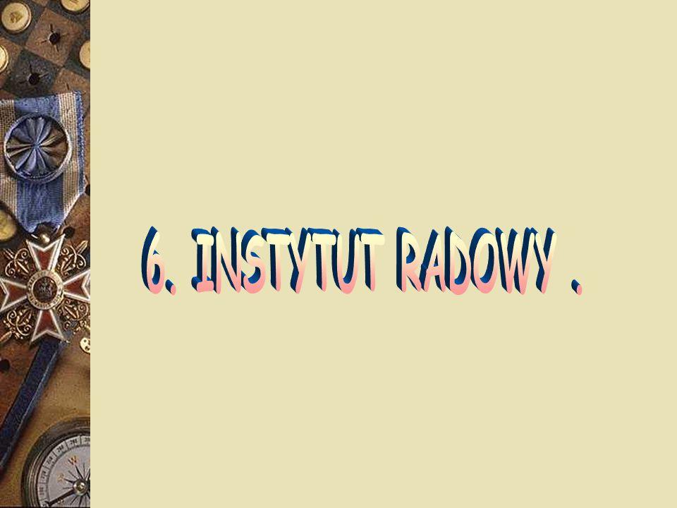 6. INSTYTUT RADOWY .