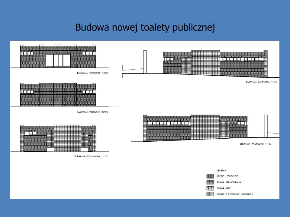 Budowa nowej toalety publicznej