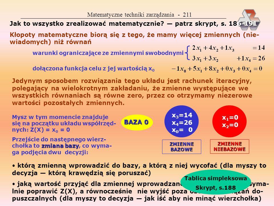 Matematyczne techniki zarządzania - 211