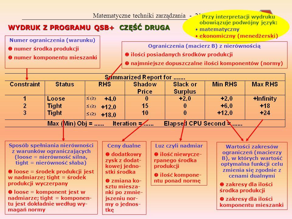 Matematyczne techniki zarządzania - 218