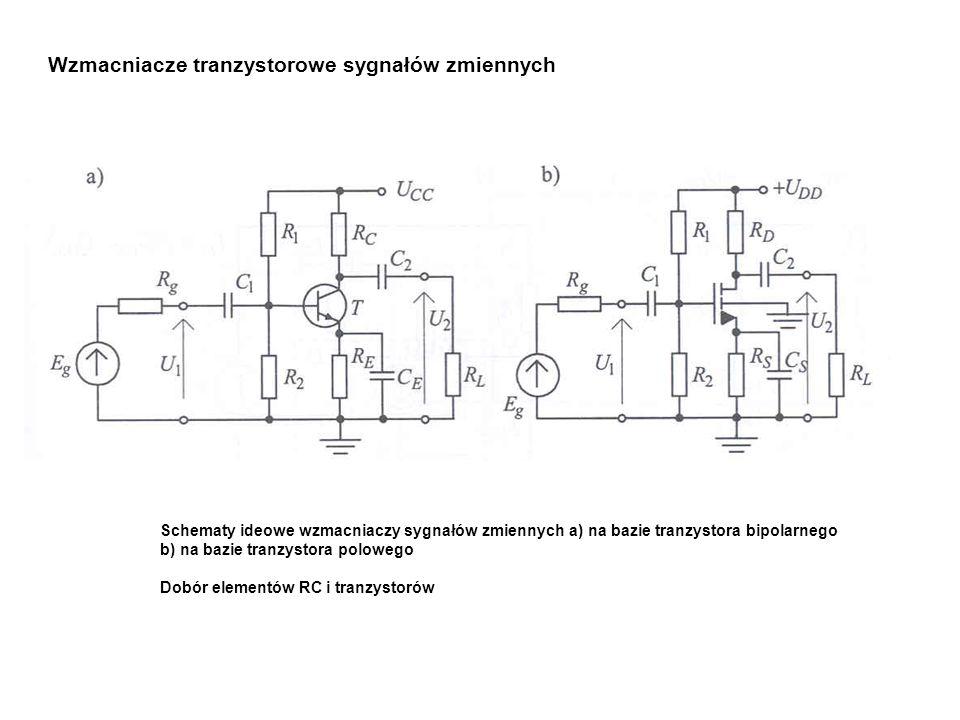 Wzmacniacze tranzystorowe sygnałów zmiennych