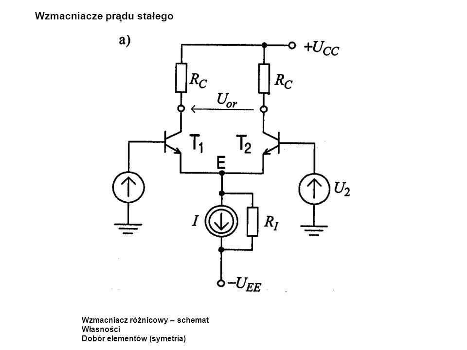 Wzmacniacze prądu stałego