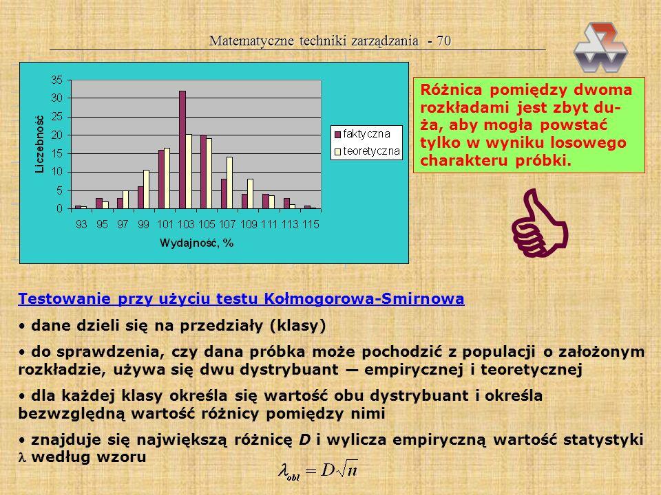 Matematyczne techniki zarządzania - 70