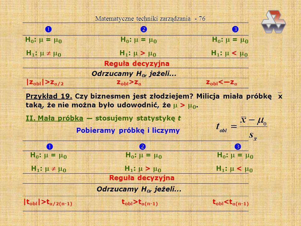       Matematyczne techniki zarządzania - 76