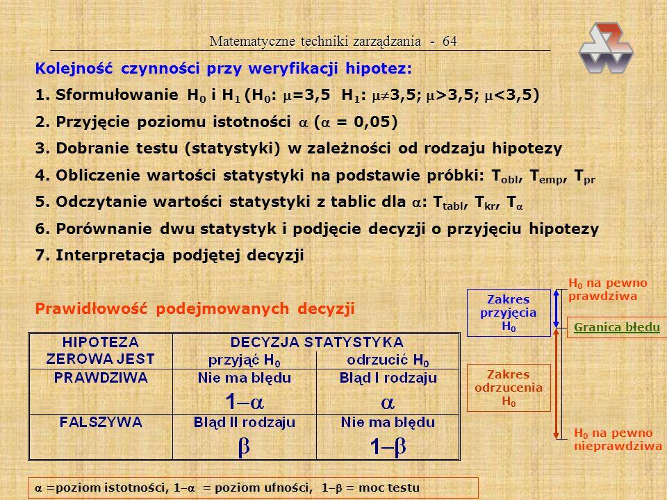 Matematyczne techniki zarządzania - 64