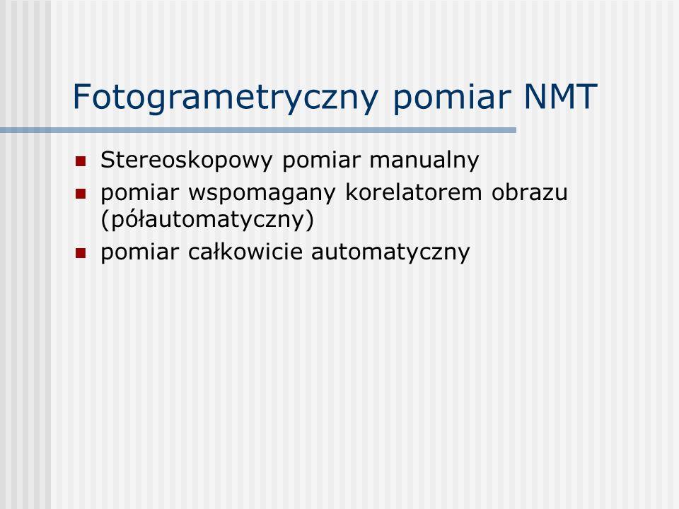 Fotogrametryczny pomiar NMT