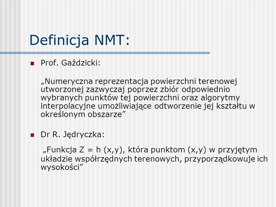 Definicja NMT: Prof. Gaździcki: