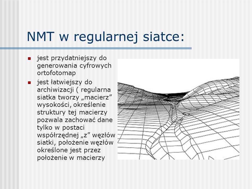 NMT w regularnej siatce: