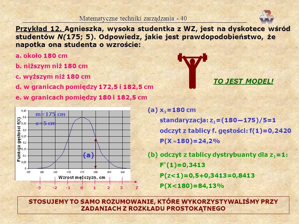 Matematyczne techniki zarządzania - 40