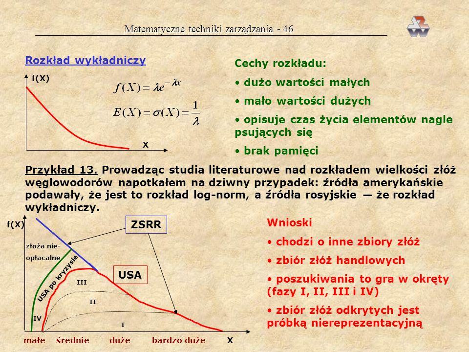 Matematyczne techniki zarządzania - 46