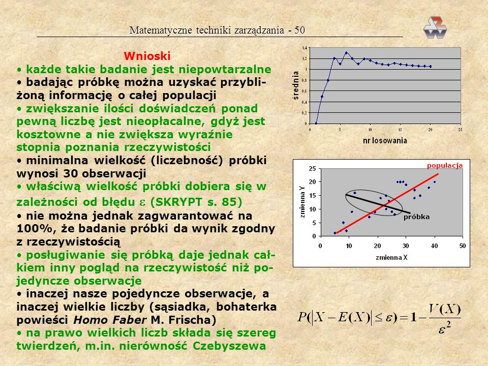 Matematyczne techniki zarządzania - 50