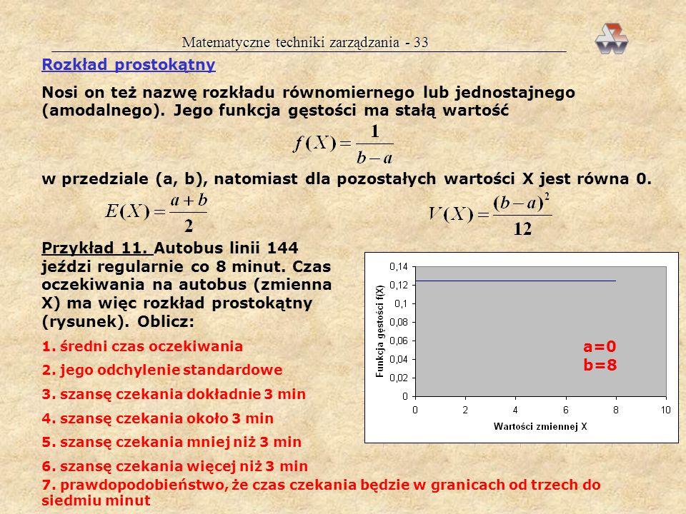 Matematyczne techniki zarządzania - 33