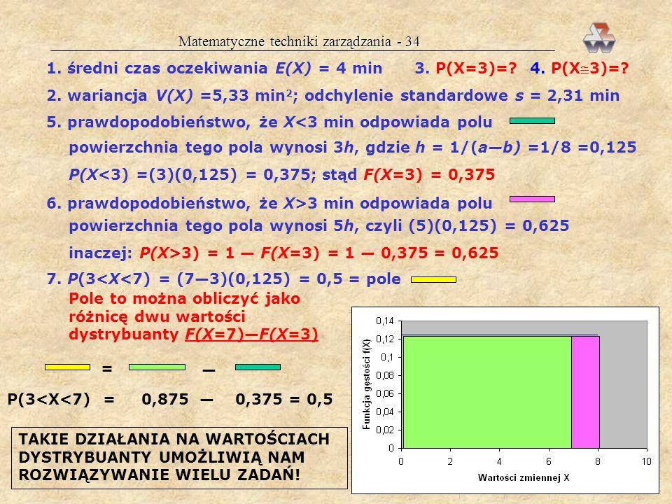 Matematyczne techniki zarządzania - 34