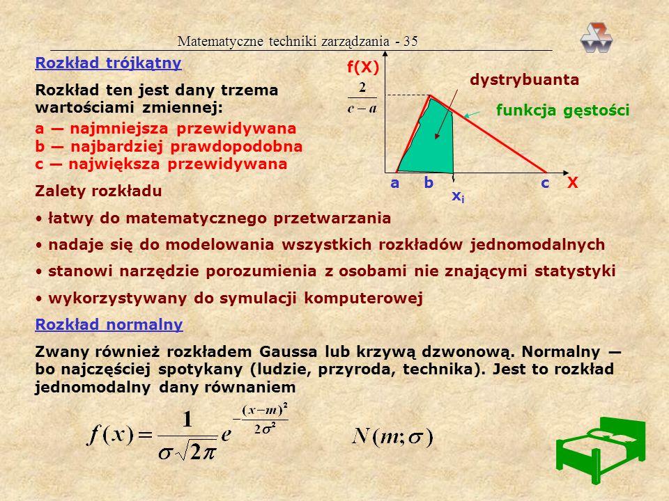 Matematyczne techniki zarządzania - 35