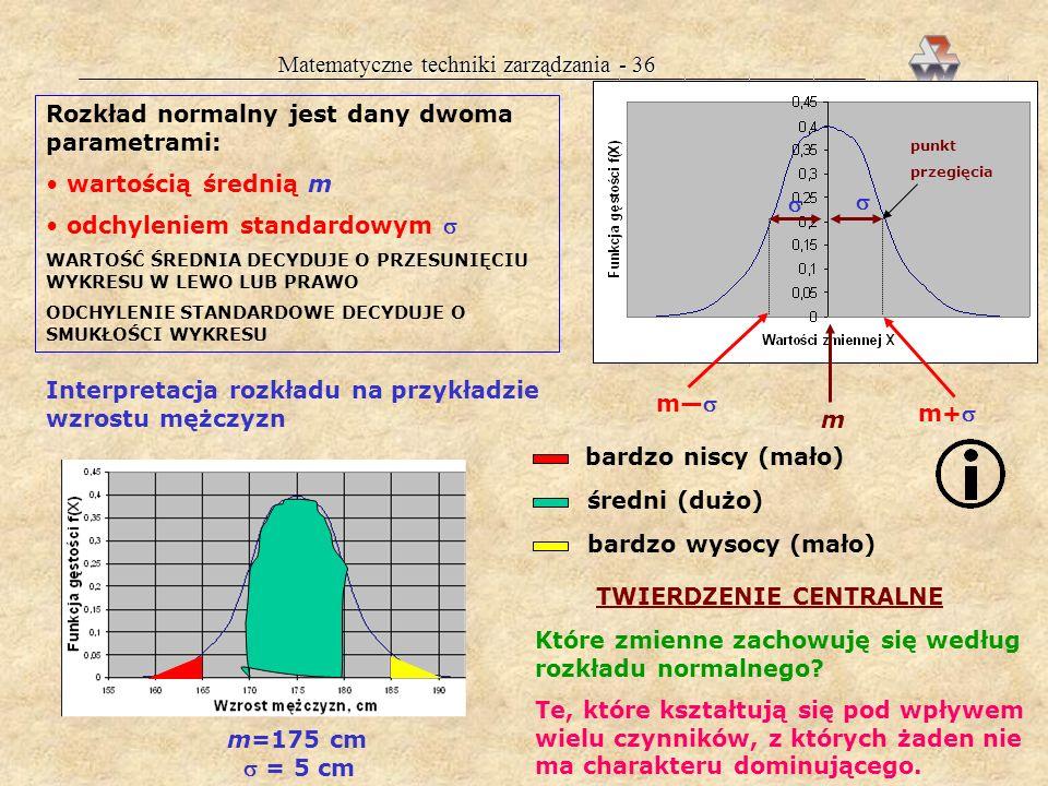 Matematyczne techniki zarządzania - 36