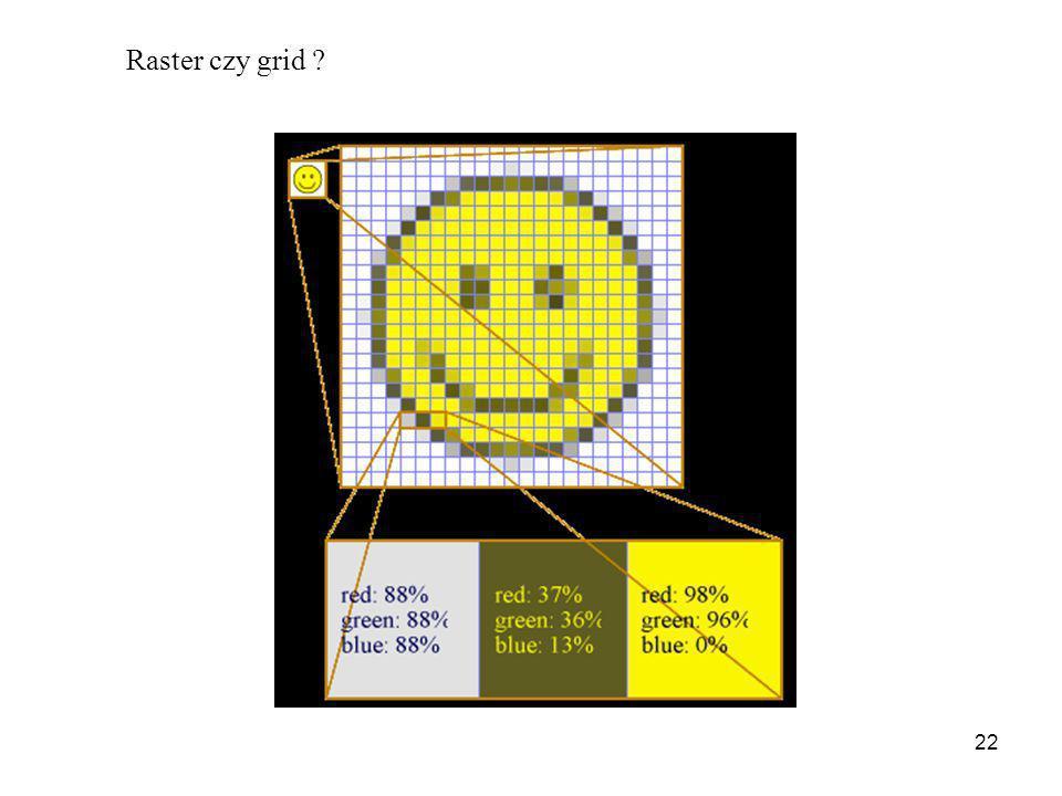 Raster czy grid