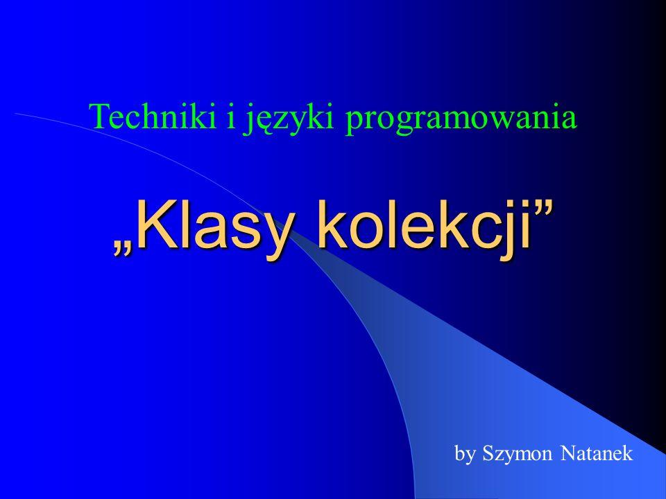 Techniki i języki programowania