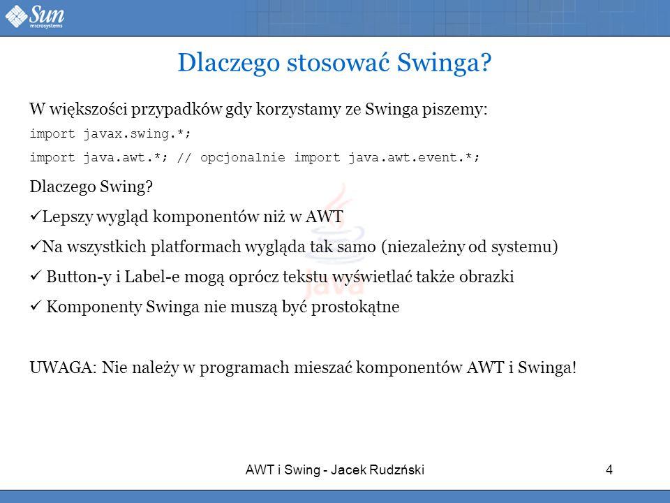 Dlaczego stosować Swinga