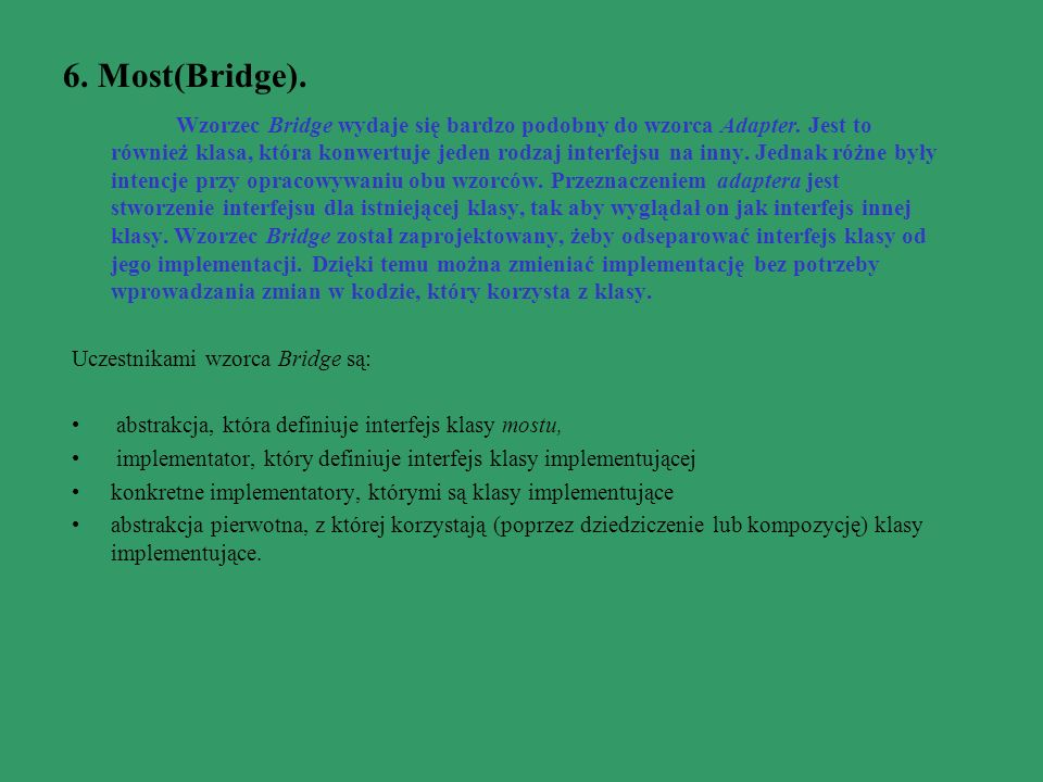 6. Most(Bridge).